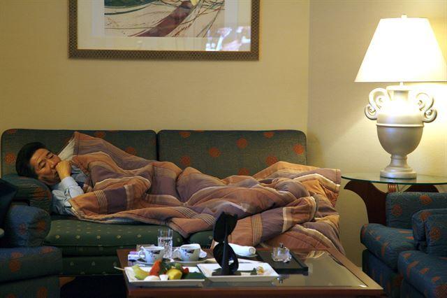 #2-3. 2007년 1월 31일 서울 그랜드 힐튼 호텔. 사진가 장철영(전 청와대 전속 사진사) 제공