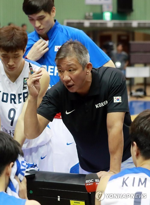 농구대표팀 허재 감독