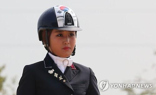 2일(한국시간)덴마크에서 현지 경찰에 전격 체포된 '비선 실세' 최순실씨의 딸 정유라(20)씨 [연합뉴스 자료사진]
