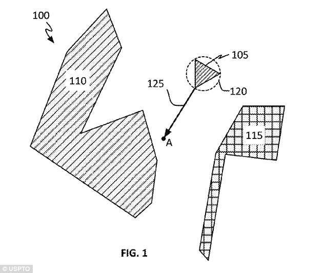 애플이 제출한 차량 충돌 회피 시스템 특허 문서