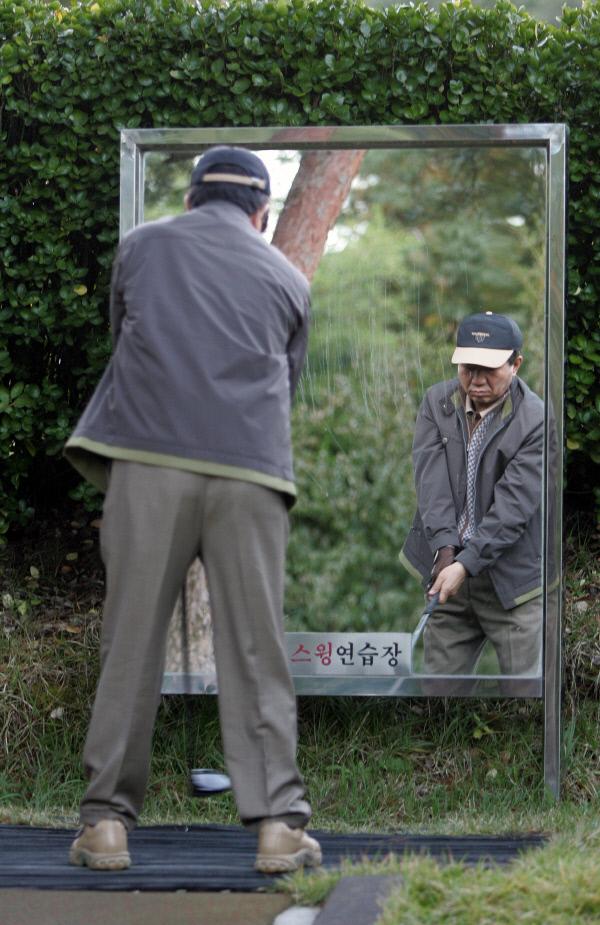 2005년10월18일 골프연습 ⓒ 장철영