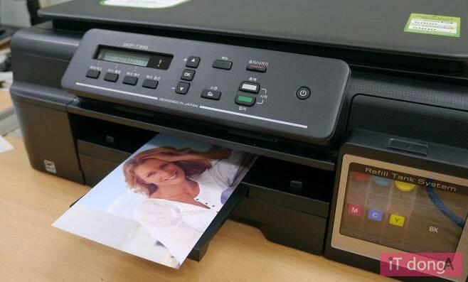 잉크젯 프린터를 이용한 사진 출력