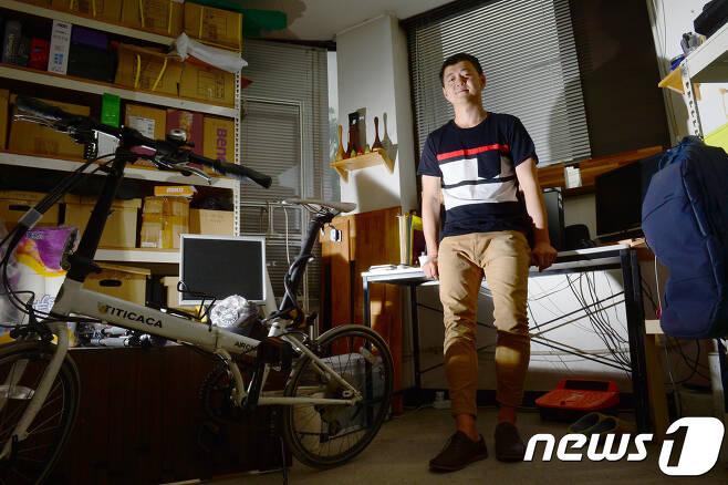 문준용 작가 2017.5.13/뉴스1 © News1 박정호 기자