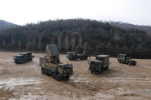 KAMD의 양적 주력이 될 천궁(M-SAM) 지대공 미사일 체계.(사진=방위사업청 제공)