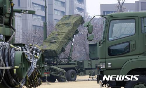 일본 항공자위대 요격 미사일 패트리엇-3