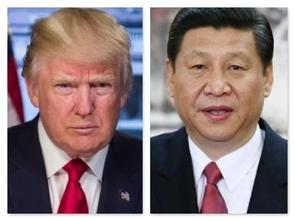 도널드 트럼프 미국 대통령이 11일 시진핑 중국 국가주석과 통화 하면서 중국의 지재권 침해 행위에 대한 조사 방침을 통지한 것으로 알려졌다. /바이두