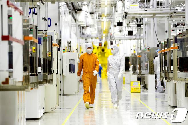 삼성전자 반도체 생산공장 (삼성전자)  뉴스1