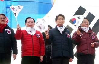 대선 주자 지지율 다 합쳐도 1%..무기력한 한국당'