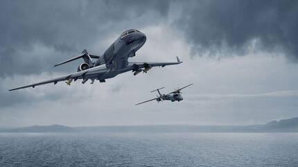 스웨덴의 소드피시 대잠초계기