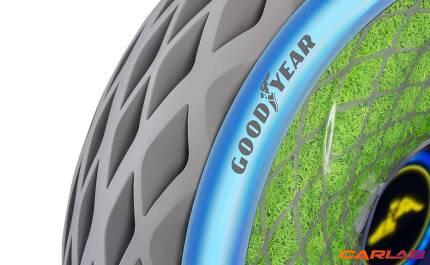 타이어는 광합성을 통해 전기도 생산한다