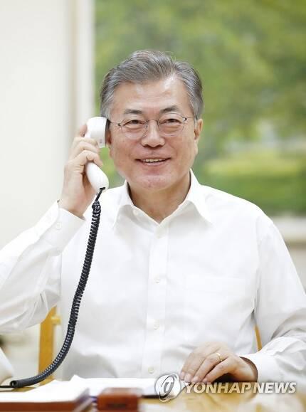 한미정상 통화 / 사진=연합뉴스
