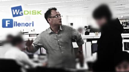 `위디스크` 양진호 회장, 전 직원 폭행 영상 논란[뉴스타파 홈페이지 캡처]