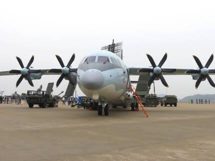 까오신 5호부터는 새로 만들어진 Y-9 수송기를 기반으로 개발되었다 (사진=김대영)