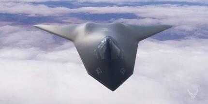 미국이 중국과 러시아의 스텔스 탐지 기술에 맞서기 위해 연구 중인 무인 스텔스 전투기. 유인 전투기와 공동작전을 펼 수 있다. [사진 AFRL]