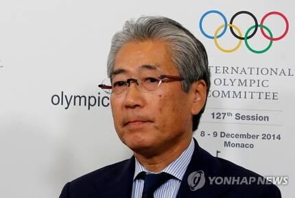 다케다 스네카즈 일본올림픽위원회 회장   [로이터=연합뉴스]