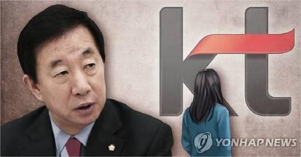 김성태 의원 자녀 KT 특별채용 의혹 (사진=연합뉴스 제공)