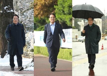 매일 걸어서 출퇴근하는 이덕훈 한남대 총장 [한남대 제공. 재판매 및 DB 금지]