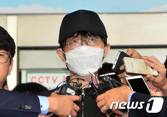 '강남역 살인사건'의 피고인 김모씨. © News1 구윤성 기자