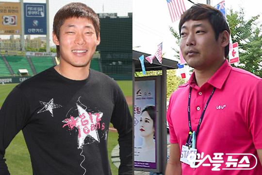 2011년 13승을 거뒀을 때의 박현준과 2016년 평범한 직장인으로 살고 있는 박현준(사진 왼쪽부터)(사진=LG/엠스플뉴스)