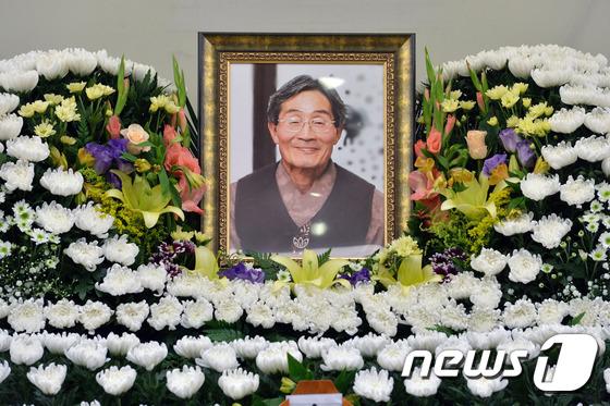 고 백남기씨. /뉴스1 © News1 황기선 기자
