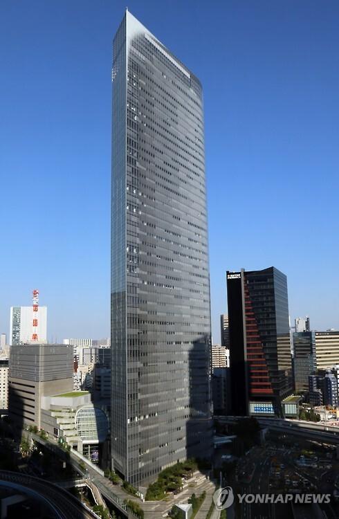 (도쿄=연합뉴스) 이세원 특파원 = 일본 도쿄도(東京都) 미나토(港)구에 있는 덴쓰 본사의 2016년 10월 15일 모습.