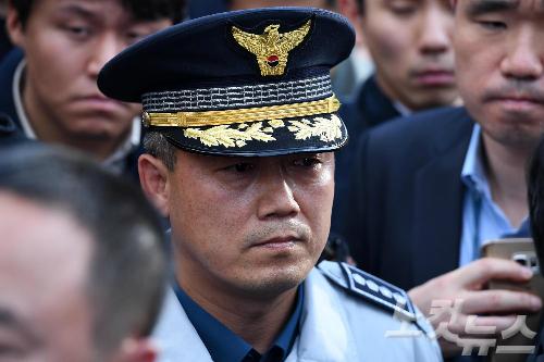 홍완선 종로경찰서장 (사진=박종민 기자/자료사진)