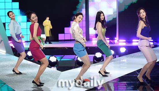 ▲슈퍼모델 선발대회 참가자 '댄스 실력은 기본'