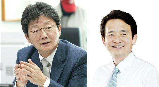 유승민 바른정당 의원과 남경필 경기지사 / 사진=공식 페이스북