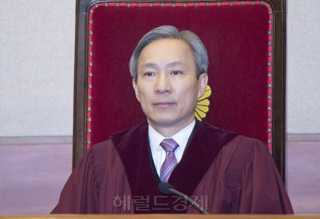 강일원 헌법재판관 [사진=헤럴드경제DB]