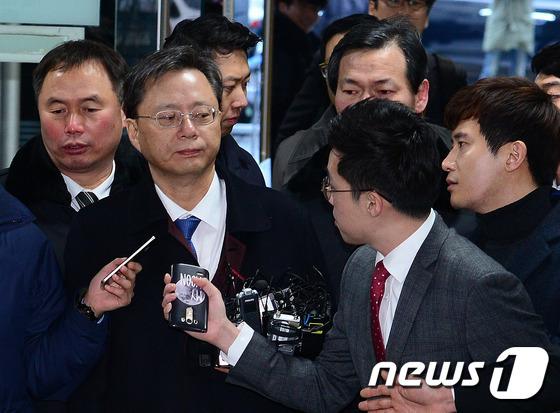 직권남용 등 혐의를 받고 있는 우병우 전 청와대 민정수석에 대해 박영수 특별검사팀이 청구한 구속영장이 기각됐다. 뉴스1 © News1 박지혜 기자