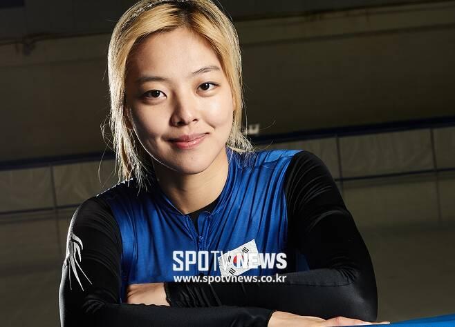 ▲ 김보름 ⓒ 한희재 기자