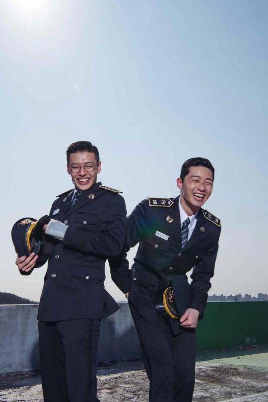 '청년경찰' 강하늘-박서준, 8월이 기다려지는 '브로맨스'