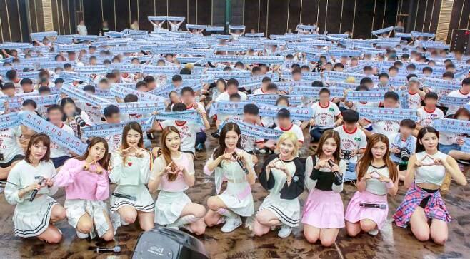 다이아가 데뷔 2주년 기념 파티를 개최한다. MBK엔터테인먼트