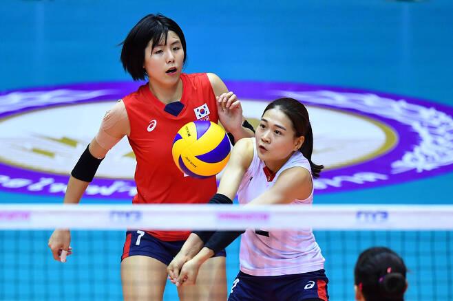 ▲ 이재영(오른쪽)과 김연견 ⓒ AVC 제공