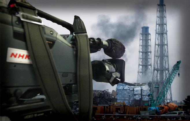 2011년 3월 대지진 이후 폭발한 후쿠시마 원전 3호기. 반강제적으로 피폭당한 일부 취재진들은 현재까지도 어려움을 호소하고 있다. © 사진=AP 연합·연합뉴스