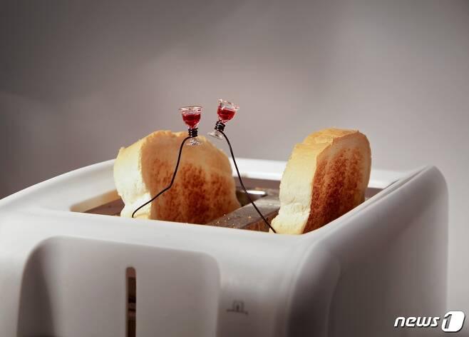 테리 보더, 사랑의 건배 Toast Toasting in a Toaster (사비나미술관 제공) © News1