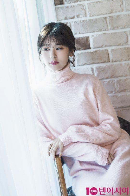tvN 드라마 '이번 생은 처음이라'에서 윤지호 역을 맡은 배우 정소민 /사진=이승현 기자lsh87@