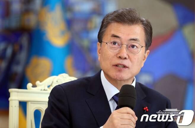 문재인 대통령 (청와대 페이스북) /뉴스1 © News1 이광호 기자