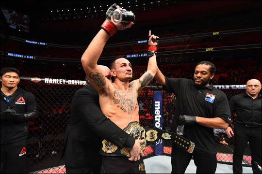 UFC 페더급 챔피언 맥스 할로웨이. ⓒ UFC 아시아