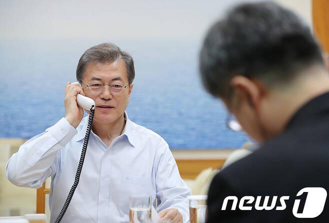 문재인 대통령. (청와대 제공) © News1 이광호 기자