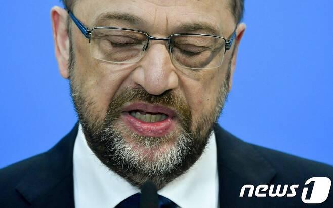 마틴 슐츠 사민당 대표© AFP=뉴스1