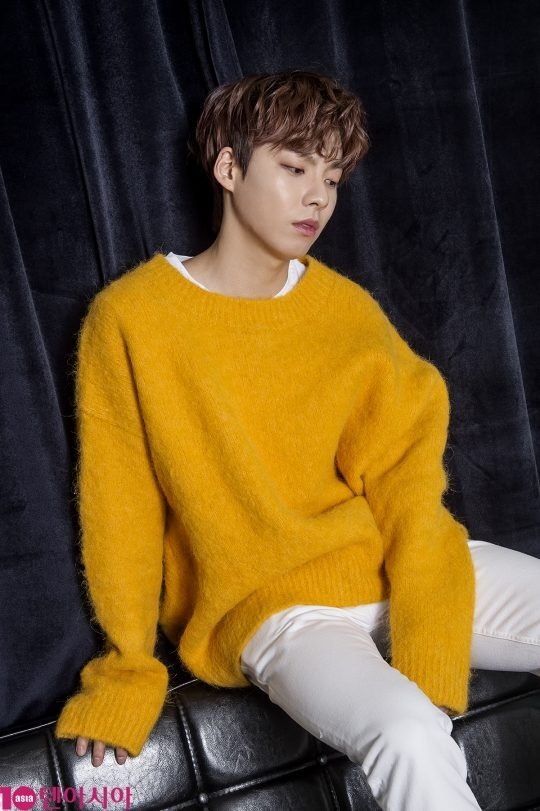 JTBC '믹스나인'에서 최종 1위를 차지해 데뷔를 앞둔 우진영. / 사진=이승현 기자 lsh87@