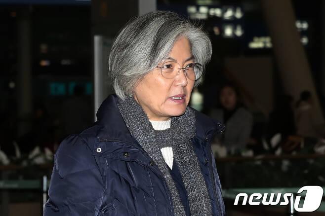 강경화 외교부 장관. 2018.1.15/뉴스1 © News1 민경석 기자
