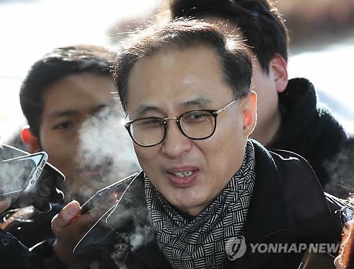 이명박 전 대통령 조카 이동형 다스 부사장 [연합뉴스 자료사진]