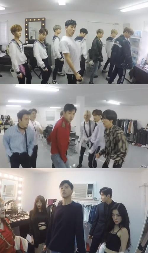 유노윤호와 NCT, 슈퍼주니어, 레드벨벳/사진=SM 엔터테인먼트 공식 인스타그램