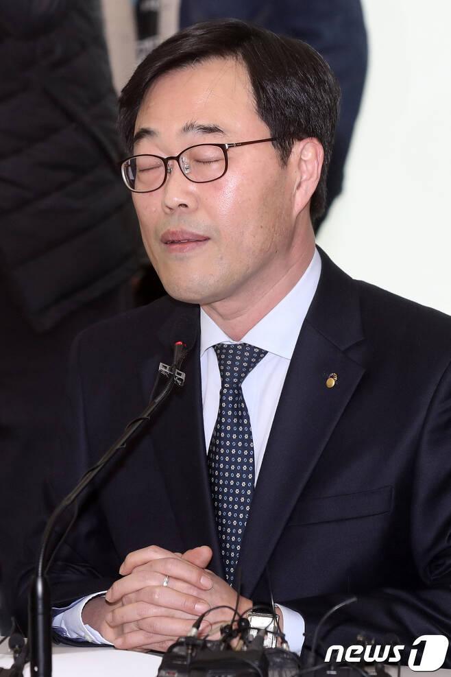 김기식 금융감독원장. 2018.4.16/뉴스1 © News1 민경석 기자