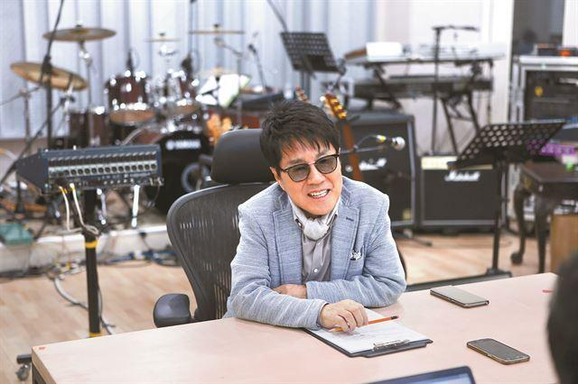 데뷔 50주년 공연을 앞둔 조용필. 연합뉴스 제공