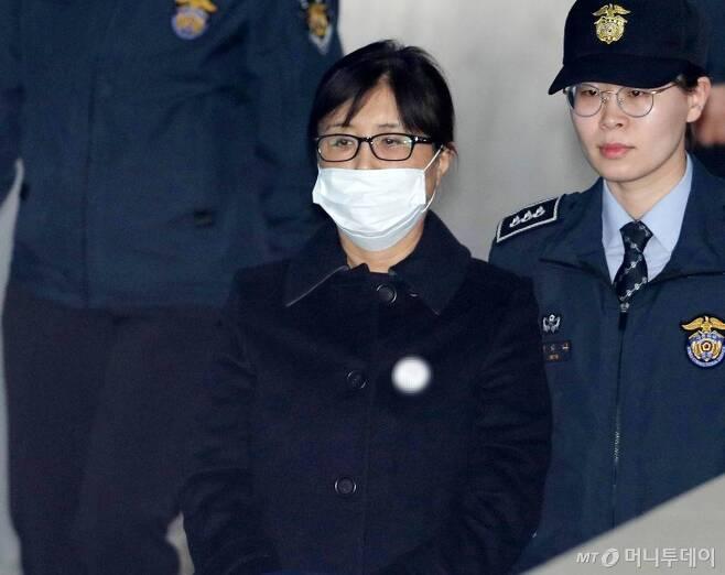 '비선실세' 최순실씨/사진=홍봉진 기자