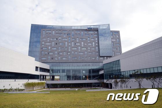 전북 혁신도시 국민연금관리공단 전경 © News1 박제철 기자