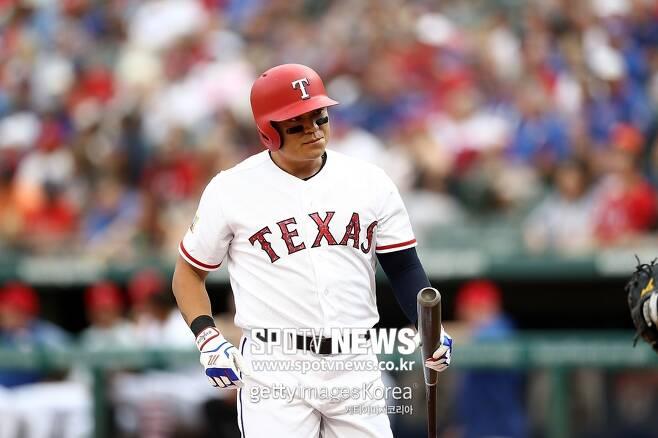 ▲ 텍사스 레인저스 추신수가 52경기 연속 출루 행진을 마감한 소감을 이야기했다.